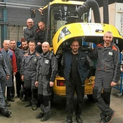 Formation « Logistique et maintenance des moyens techniques hydrauliques ».